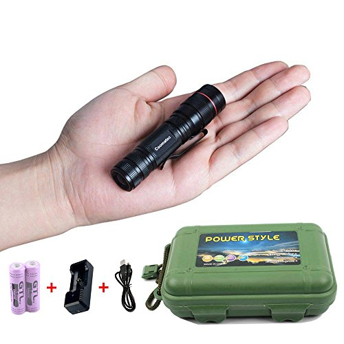 coomatec-sd-200-mini-edc-linterna-recargable-led-zoom-450lm-3-modos-resistente-al-agua