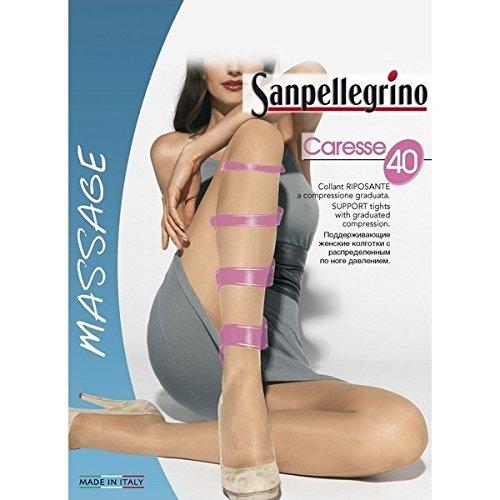 Sanpellegrino calze collant caresse 40 colore bronzo taglia 4