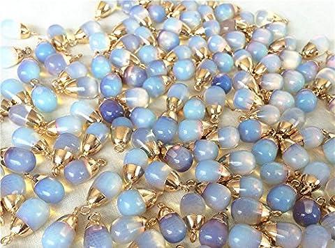 Galvanisteinverzierungen Opal Ohrhänger , opal / gold