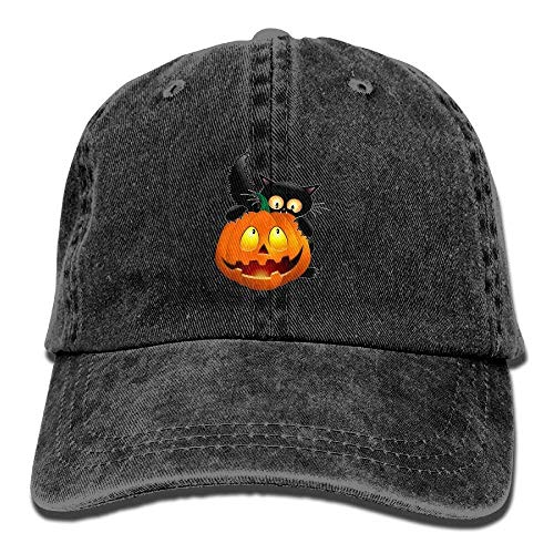 t Pumpkin Unisex Washed Adjustable Cowboy Hut Denim Baseball Caps Multicolor86 ()
