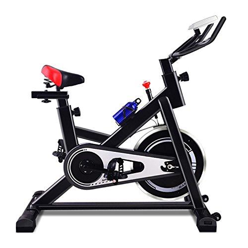 Gym Körper Home Solide (YHSport Indoor Radfahren Heimtrainer, Leise Silent Spin Bike Gym Studio Zyklen Trainingsmaschinen Einstellbare Magnetische Widerstand Schwarz)