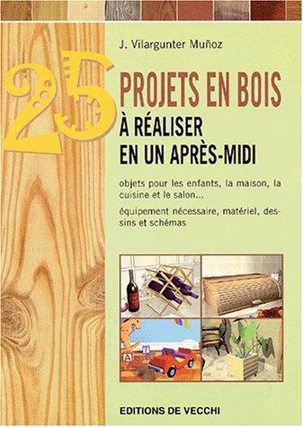 25 objets en bois à réaliser en un après-midi par Joaquim Vilargunter Munoz