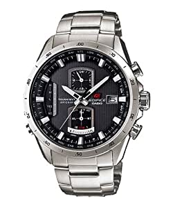 Casio Edifice Analog Black Dial Men's Watch - EQW-A1110D-1ADR (EX070)