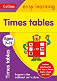 Times Tables Ages 7-11: New Edition: easy times tables activities for years 3 to 6 (Collins Easy Learning KS2)
