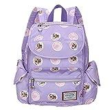 CJH Kleine Schultertasche Weibliche Tasche große High School Student Tasche Modetrend Freizeit Reisetasche Rucksack Lila