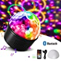 Disco Lights Bluetooth Speaker,Homeasy Disco Ball Light RGB Sound Activated with Remote Control DJ Party Light for Kids, Festival Celebration Birthday Xmas Wedding Bar Club