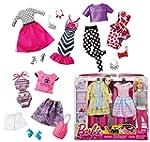 Barbie Fashion Pack 2 Vestidos Surtid...