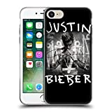 Official Justin Bieber Album Cover Purpose Soft Gel Case for Apple iPhone 7 / iPhone 8