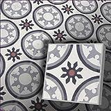 1m² Zementfliesen orientalische Marokko Radia 153_8 piekfein Bodenfliesen Mosaikfliesen marokko