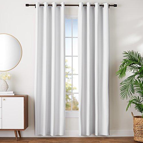 AmazonBasics - Juego cortinas no dejan pasar luz