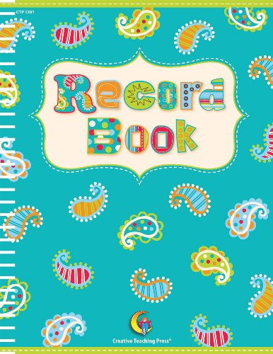 DOTS ON TURQUOISE RECORD BOOK BY CHRISTIE WELTZ (2011 06 01)