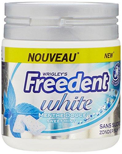 Freedent Chewing-gum Douce Verte sans sucres 84 g