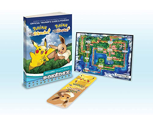 Pokémon: Let's Go, Pikachu! & Pokémon: Let's Go, Eevee!: Official Trainer's Guide & Pokédex par Pokemon Company International