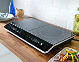 Quest 35840 Benross Digital Induction Hob Hot Plate with 10 Temperature Settings