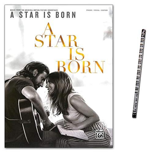 A Star is born - Música de la banda sonora original para piano, guitarra, canto, Lady Gaga y Bradley Cooper
