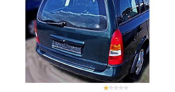 Opel Astra G Caravan Kombi Chrom Ladekantenschutz Aus Edelstahl Mit Abkantung Auto