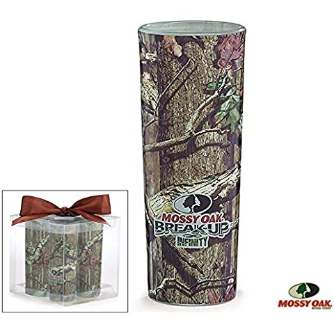 Set of 4 Mossy Oak Camouflage Shot Glasses by Mossy Oak Break Up Infinity