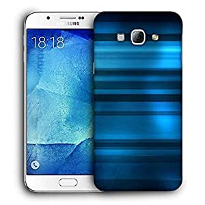 Snoogg Blue Dark Pattern Printed Protective Phone Back Case Cover For Samsung Galaxy Note 5