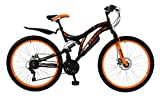 Boss Men's Ice Bike, Black/Orange, Size 26