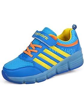 Zapatillas con ruedas, Niños Niñas Led Luz Parpadea Zapatos