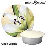 serene house wachs pod 35g - Clean Cotton 2er Pack - Duftkapsel Wachskapsel für Serene Pod Raumduftsystem ECLIPSE