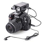 BOYA BY-SM80 Microphone a condensatore Professionale stereo X / Y per Canon Nikon Sony DSLR per fotocamera e videocamera
