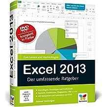 Excel 2013: Der umfassende Ratgeber