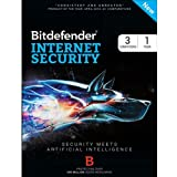 Bitdefender Internet Security for 3 computers 1 year