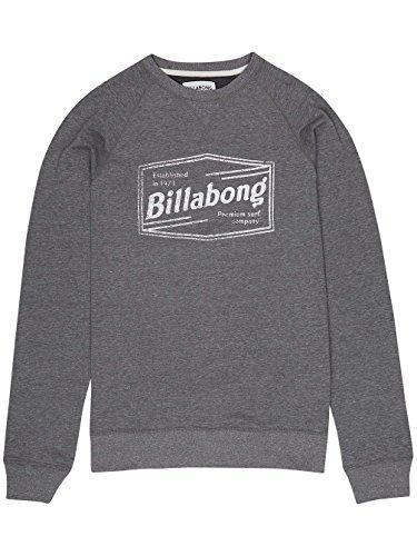 Billabong Labrea Crew, Sweatshirt ohne Kapuze Herren Dark Grey Heath
