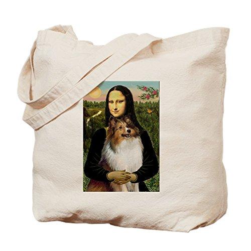 CafePress-Mona 's Sheltie-Leinwand Natur Tasche, Tuch, Einkaufstasche Tote S khaki
