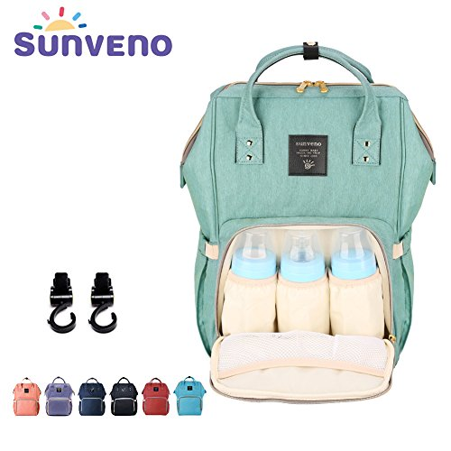 sunveno-multi-function-large-capacity-mummy-backpack-baby-diaper-nappy-changing-bag-shoulder-backpac