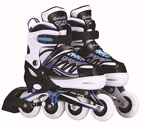 TSMDHH Skates, Vollblitz-PU-Rollschuhe, Inline-Skates