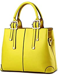 6a4aa1bcee4 Amazon.co.uk: Yellow - Top-Handle Bags / Women's Handbags: Shoes & Bags