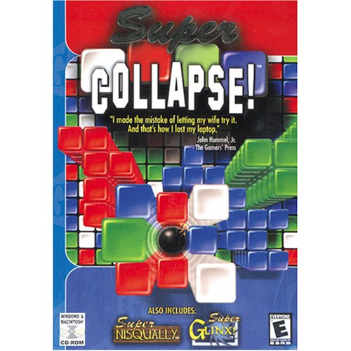Super Game House Collection: Super Collapse Super Nisqually and Super Glinx by MacPlay (Super Collapse Pc)