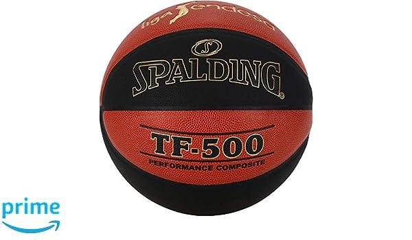 Spalding ACB-L.Endesa Tf500 Sz Bal/ón de Baloncesto Naranja Oscuro//Negro 7 76-287Z 7 Unisex Adulto