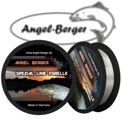 Angel Berger Spezial Line Angelschnur Forelle 300m (0.18mm / 3.40Kg)