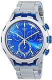 Swatch Herren-Armbanduhr Endless Energy Chronograph Quarz Aluminium YYS4001AG