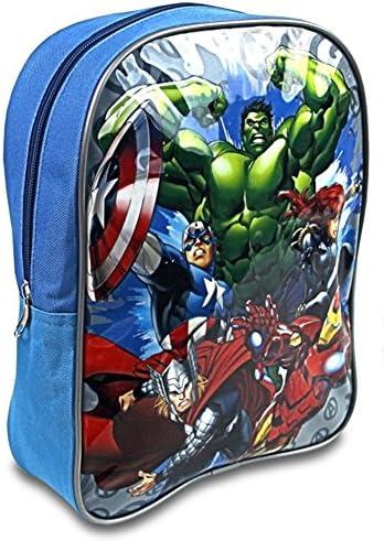Marvel Avengers A95762 Sac à dos, Cartable, 28 Centimètres, Multicolore, Iron Femme, Captain America, Hulk, Thor | Un Approvisionnement Suffisant