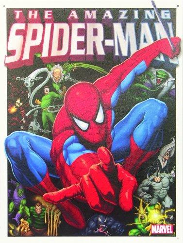 placa-de-metal-marvel-the-amazing-spider-man-el-asombroso-hombre-araa-30cm-x-40cm