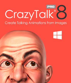 CrazyTalk 8 PRO (PC, Deutsch) [Download] (Avatar-software)