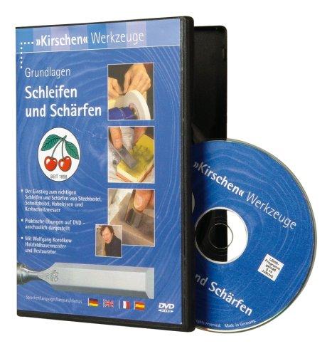 Kirschen 3657000 DVD Schleifen und Schärfen (Schärfen Stecheisen Von)