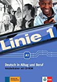 Linie 1 A1: Deutsch in Alltag und Beruf. Vokabeltrainer mit CD-ROM