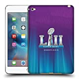 Head Case Designs Official NFL Northern Lights Glow 2 2018 Super Bowl LII Soft Gel Case for Apple iPad mini 4
