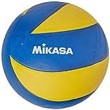 Mikasa Mva-2000 Soft Pallone Pallavolo, Blu/Giallo, 5