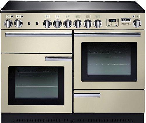 Falcon Professional + 110Range Cooker Platte mit Zone Induktions Hat Creme-Öfen und. (Range Cooker, creme, drehbar, vor, elektronisch, LCD)
