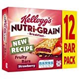 Kellogg's Nutri-Grain Fruity Breakfast Bars Strawberry, 12 x 37g Bars
