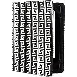 Jonathan Adler Greek Key Hülle für Kindle, Kindle Paperwhite und Kindle Touch, Black/White