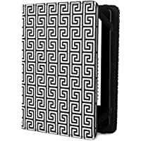 Jonathan Adler Greek Key - Funda para Kindle y Kindle Paperwhite, color negro/blanco