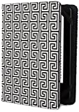 Jonathan Adler - Greek Key - Étui Kindle, Kindle Paperwhite et Kindle Touch, Noir/Blanc