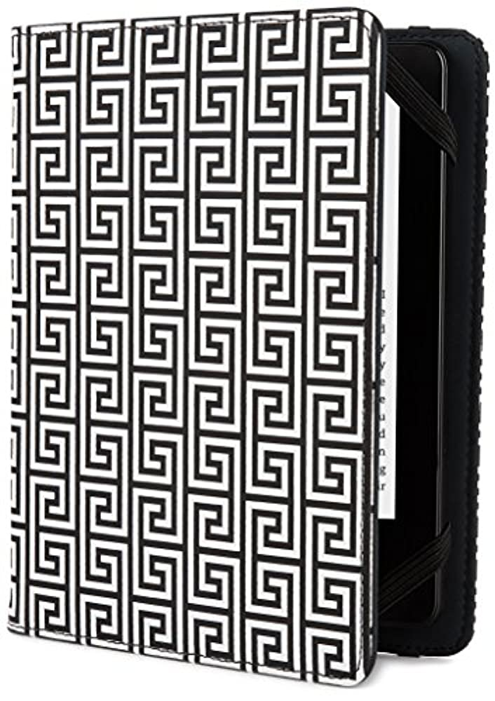 Jonathan Adler Greek Key Hülle für Kindle, Kindle Paperwhite und Kindle Touch, Black/White